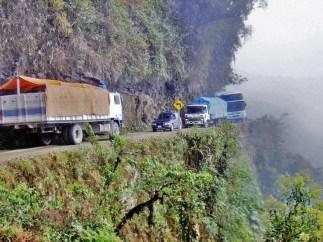 Camino de Las Yungas (Bolivia)