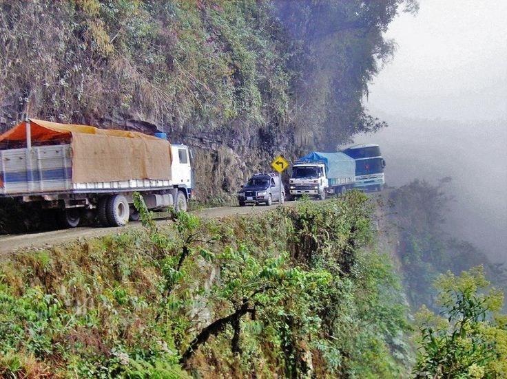 Fotos Las Carreteras Más Peligrosas Del Mundo Imágenes