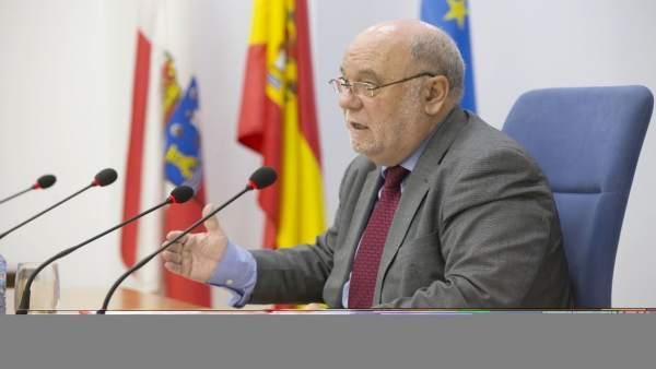 Juan José Sota, consejero de Economía, Hacienda y Empleo de Cantabria