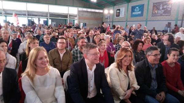 """Puig ja ha donat el seu aval a Susana Díaz i demana una alternativa """"potent"""" a un govern del PP """"adossat a la corrupció"""""""