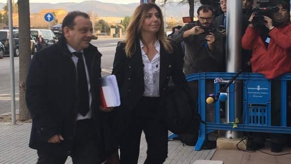 El Fiscal Horrach a la llega al juicio por el caso Noos