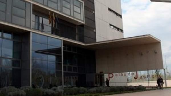 En la imagen la fachada del Palacio de Justicia de Girona.
