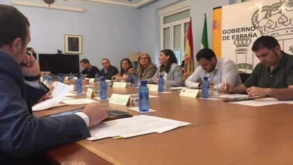 Reunión de la comisión provincial del Aepsa.