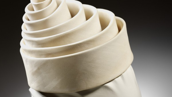 Spiral hat, silk, Balenciaga for Eisa, Spain, 1962