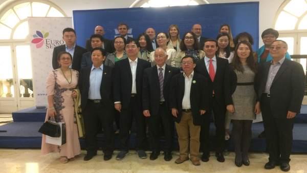 La delegación china se ha interesado por proyectos de turismo de salud.