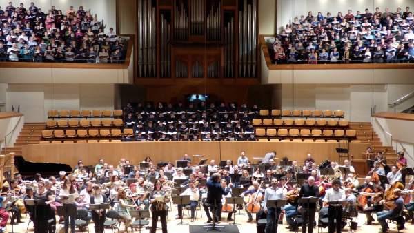 Ensayo O.V Simfonia núm.8 Dels mil