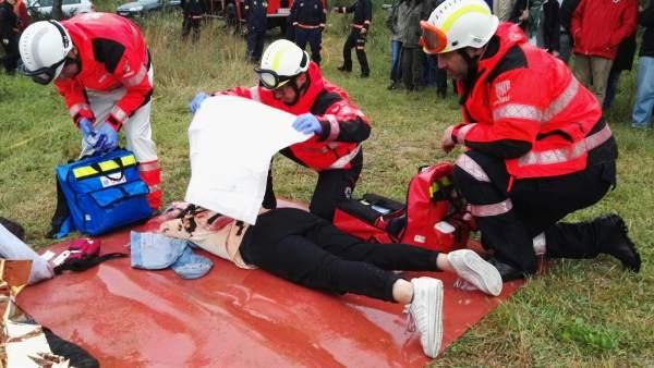 Simulacro emergencias