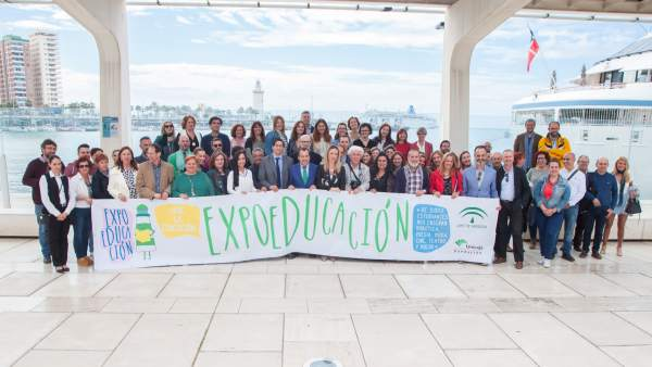 ExpoEducación 2017 muelle dos málaga junta unicaja educación feria palmeral