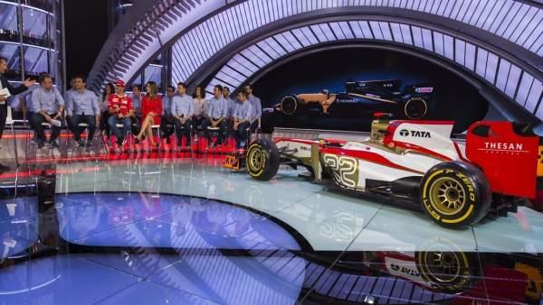 Presentación del Nuevo Programa 'Formula Uno' de Movistar +©  Alberto R. Roldan