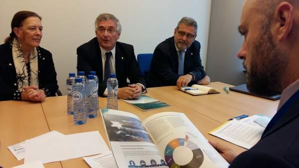 Olona busca en Bruselas apoyo para la descontaminación de lindano