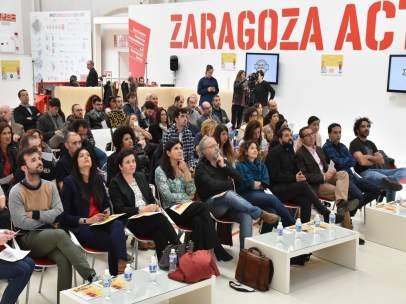 Acto en el Semillero de Ideas de Zaragoza Activa