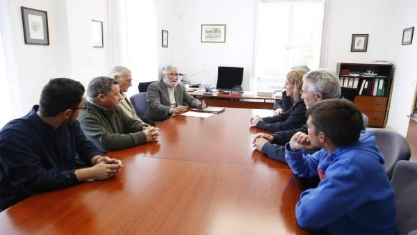 Reunión sobre el congreso internacional sobre José María Pereda