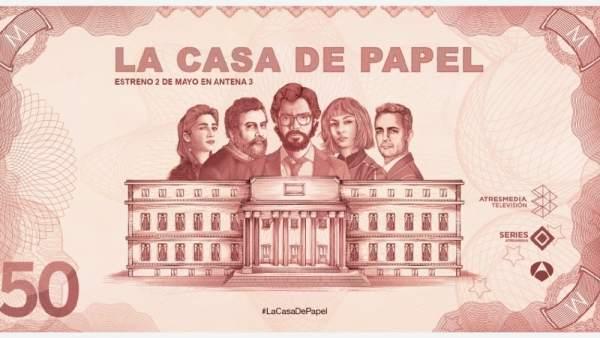 La casa de papel, concurso