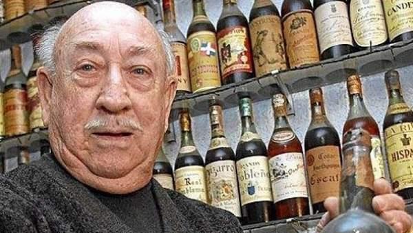 La mayor colección de brandy