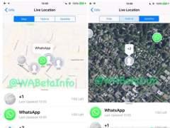 Localización en tiempo real en Whatsapp: un vídeo muestra cómo funciona
