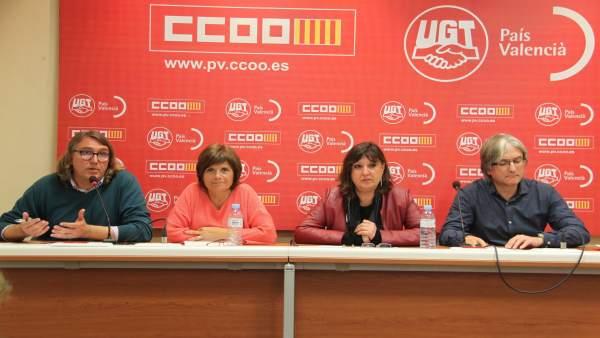 Els accidents laborals creixen un 6,5% en 2016 a la Comunitat Valenciana