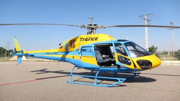 Helicóptero de la Dirección General de Tráfico