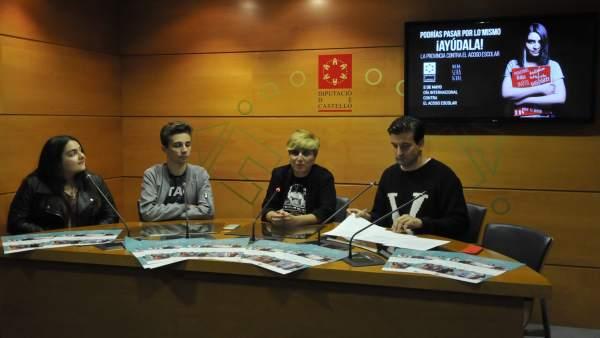 Més d'un miler d'estudiants participaran el dimarts en un acte contra l'assetjament escolar a Castelló