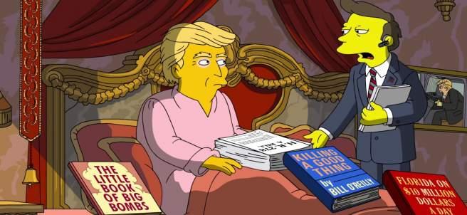 Trump en 'Los Simpson'