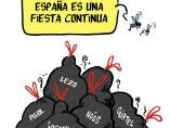 España, fiesta continua