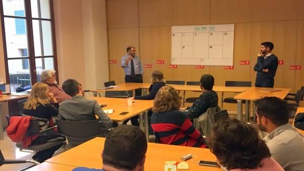 Primera reunión sectorial para la ponencia de los socialistas de Mallorca