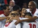 El Sevilla gana al Celta y mete presión al Atlético por la tercera plaza de la Liga