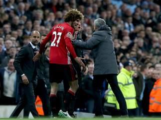 Mourinho en el City - United