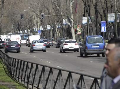 Tráfico, coches, atascos