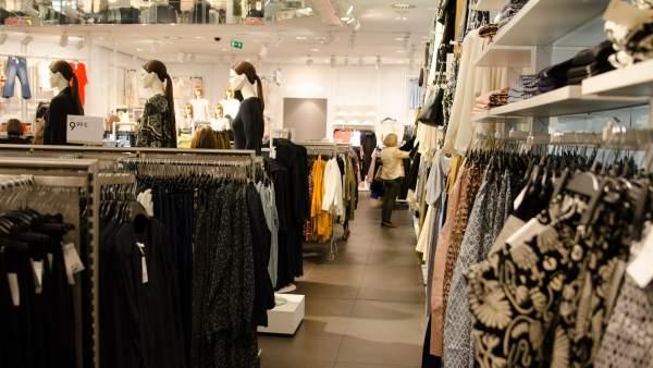 Tienda de ropa en Madrid