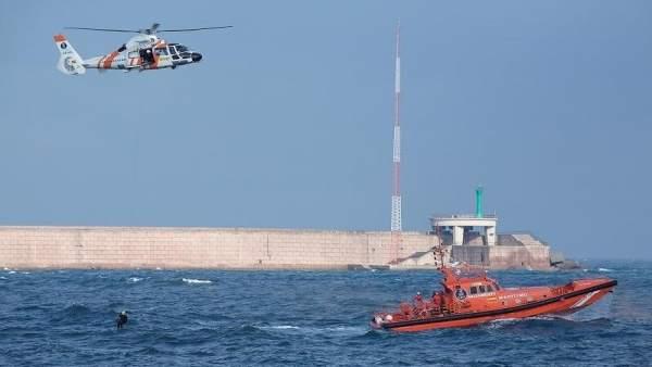 Interceptan inmigrantes en Tarifa (Cádiz)