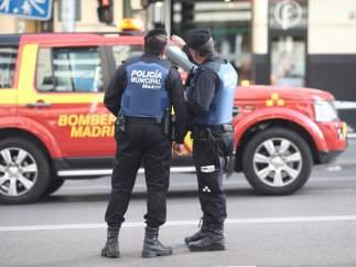 Agentes de Policía Municipal de Madrid