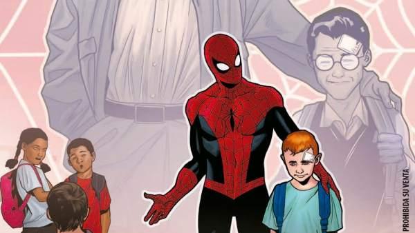 'Spider-Man' contra el acoso escolar.