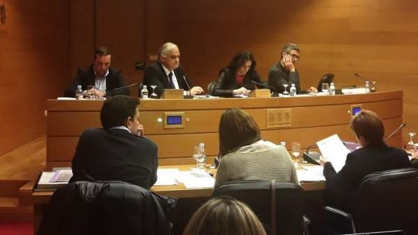González Pons en la Comisión de Ciegsa