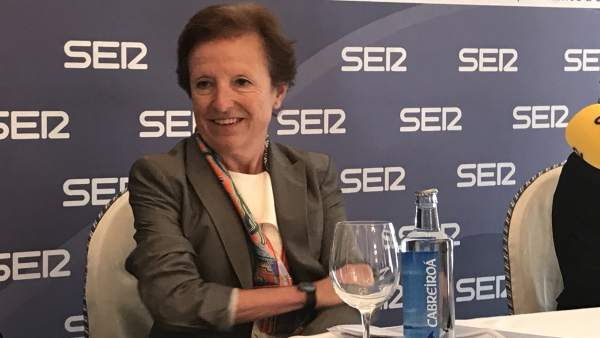La fiscal Pilar Martín Nájera en el Foro SER Cantabria