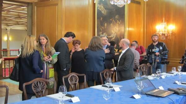 Miembros del jurado del Premio Princesa de Asturias de las Artes 2015