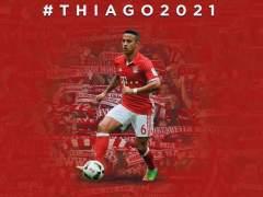 Thiago prolonga su contrato con el Bayern hasta 2021