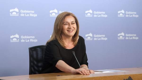 La portavoz del Gobierno riojano Begoña Martínez Arregui