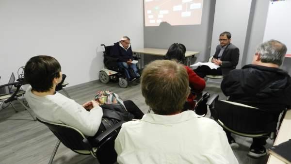 Presentación del servicio de denuncia por discriminación de Aspid