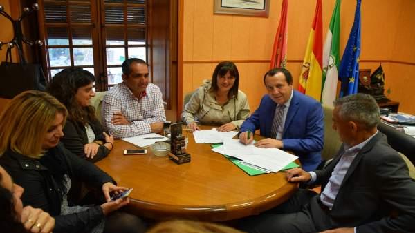Ruiz Espejo reunión camping El Chorro caminito Rey