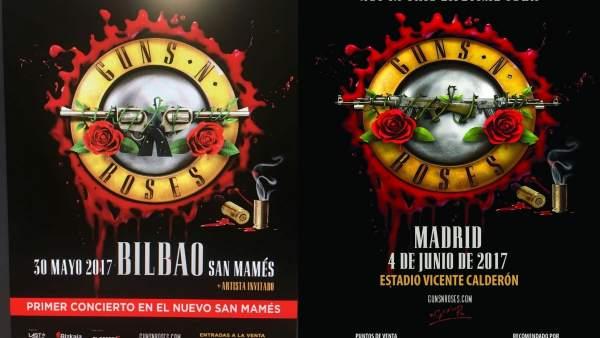 GUNS N ROSES EN ESPAÑA
