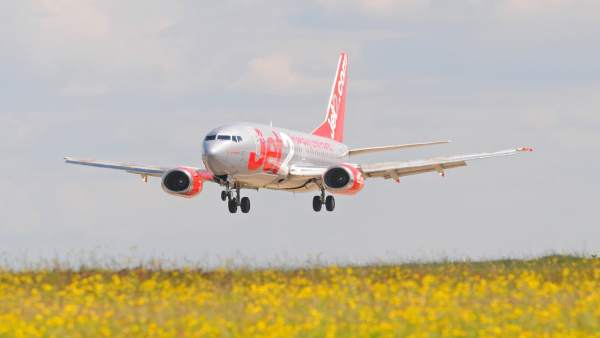 Aviones de Jet2