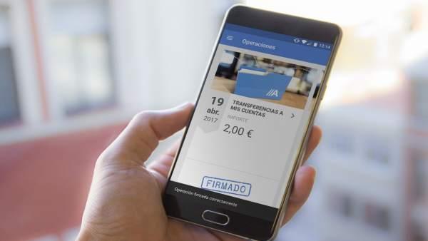 Abanca lanza una aplicación para operaciones de empresas