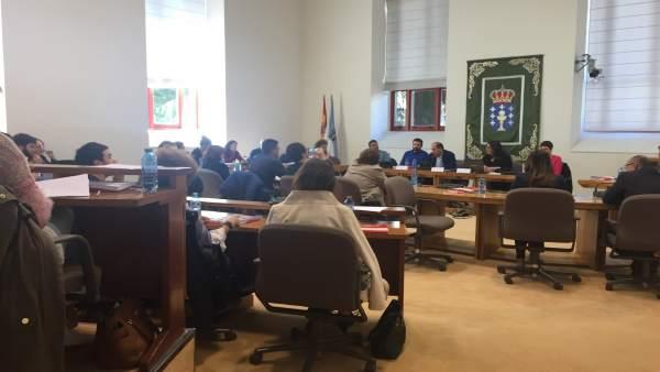 Jornadas del PSdeG sobre pobreza en el Parlamento