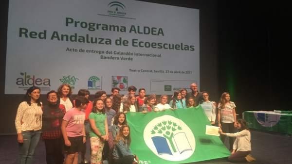 Renovación de la Bandera Verde Ecoescuelas