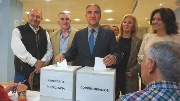 Bendodo, votación de compromisarios PP