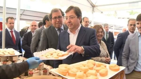 Vara en la XXXII Feria del Queso de Trujillo
