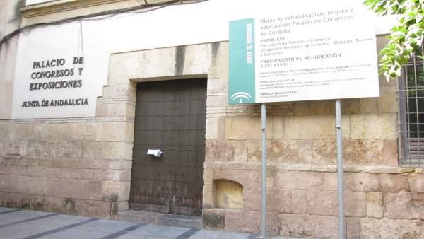 Fachada del Palacio de Congresos de Córdoba