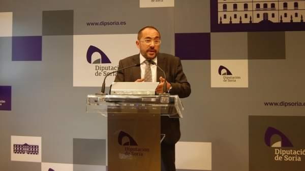 Soria: Luis Rey explica la modificación presupuestaria