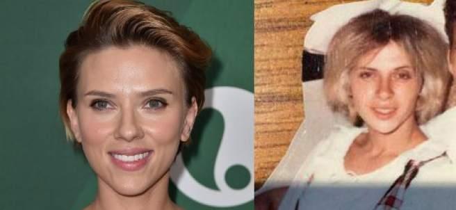 Scarlett Johansson y su doble