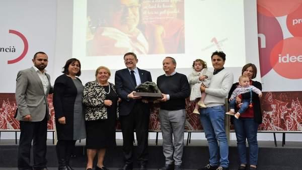 """Puig destaca la passió de Josep Lluís Doménech per la cultura i la seua """"gran vocació de defensa"""" de la valenciana"""